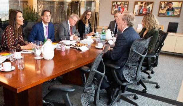 Algemene Vergadering VN - De Croo overlegt met Microsoft-topman over dichten digitale kloof