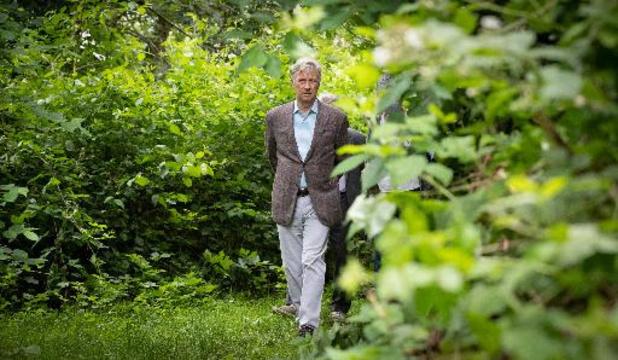 Le Roi Philippe visite une réserve naturelle et un espace-test agricole à Anderlecht