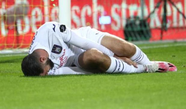 Anderlecht ziet Elias Cobbaut vier maanden uitvallen met enkelbreuk