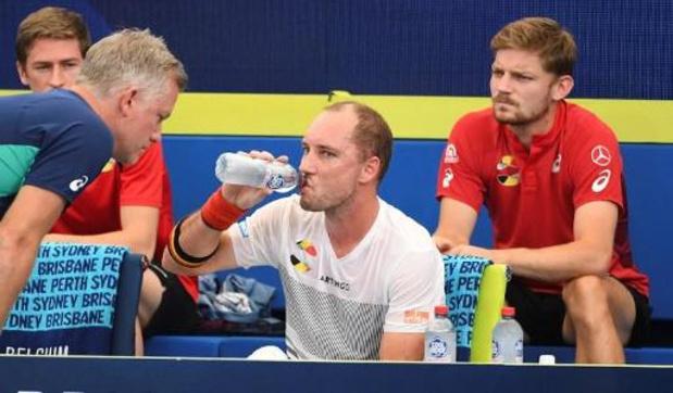 ATP Cup - Darcis bat difficilement Cozbinov et donne l'avance à la Belgique contre la Moldavie