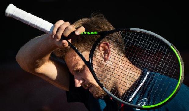 """Enkelblessure houdt Goffin weg van Wimbledon: """"Uitermate teleurgesteld"""""""