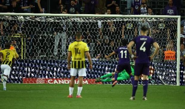 Conference League - Anderlecht et Vitesse font match nul dans une partie folle, Refaelov manque la victoire