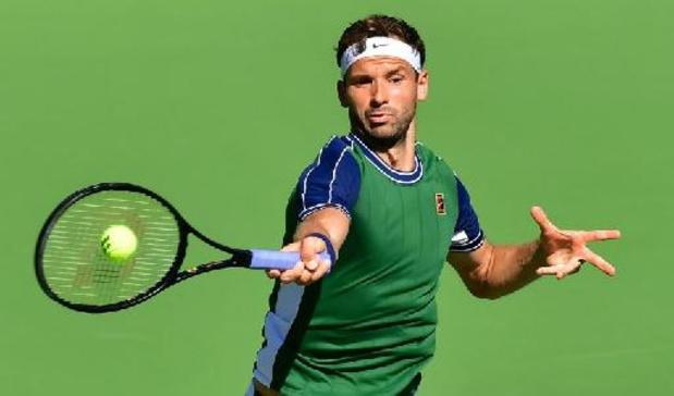 ATP Indian Wells - Grigor Dimitrov vervoegt Cameron Norrie in halve finales