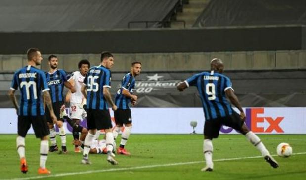 Europa League - Séville bat l'Inter Milan de Romelu Lukaku et remporte l'Europa League pour la 6e fois