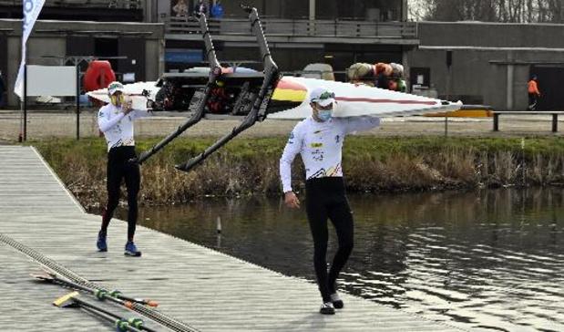 Le deux de couple poids légers Tim Brys -Niels Van Zandweghe forfait pour l'Euro de Varèse
