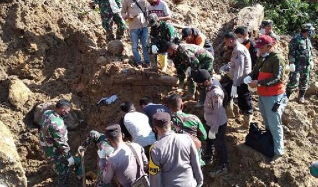 Drie doden bij aardverschuiving in Indonesië