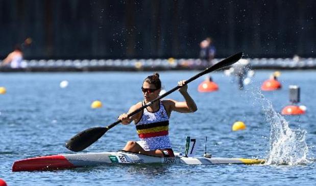 OS 2020 - Lize Broekx sluit Spelen af met vijfde plaats in C-finale K1 500m