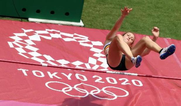 JO 2020 - La hauteur permet à Nafi Thiam de prendre la tête de l'heptathlon, Noor Vidts 4e