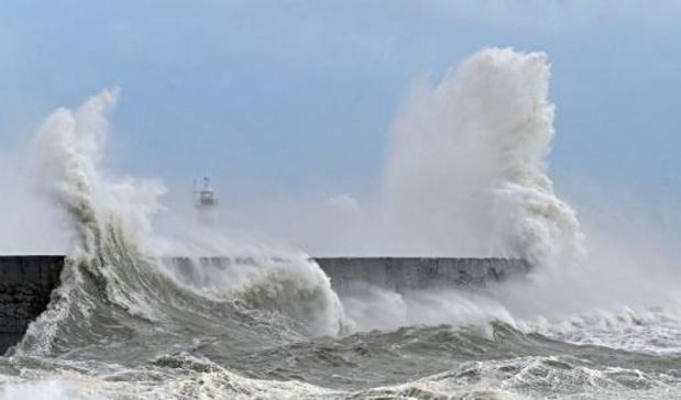 Storm Francis veroorzaakt overlast in Nederland