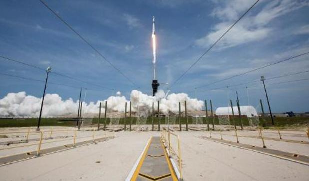 La capsule habitée de SpaceX est revenue sur Terre