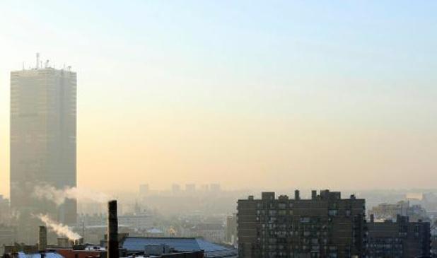 Les niveaux de pollution de l'air proches de ceux de l'an dernier en juillet et en août