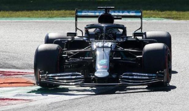 Hamilton verovert ook in Monza de pole