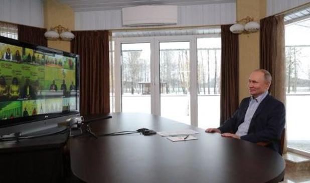 Russisch president Poetin reageert op film van criticus Navalny