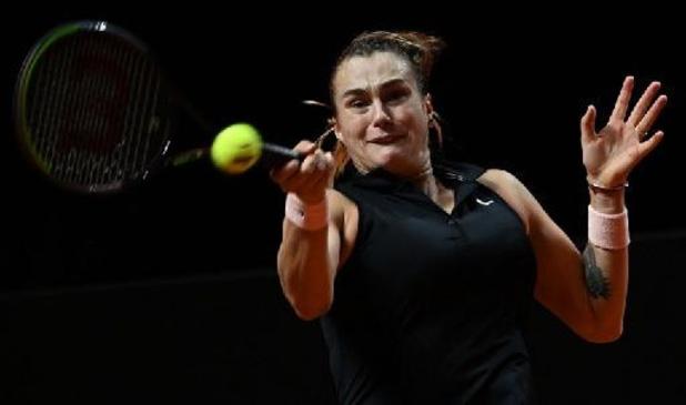 WTA Stuttgart - Aryna Sabalenka se joue de Simona Halep et rejoint Ashleigh Barty en finale