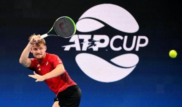 ATP Cup: Goffin battu par Evans, la Grande-Bretagne revient à 1-1 face à la Belgique