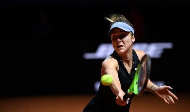 Elina Svitolina battue d'entrée à Madrid, Mertens affrontera Zhang vendredi au 1er tour