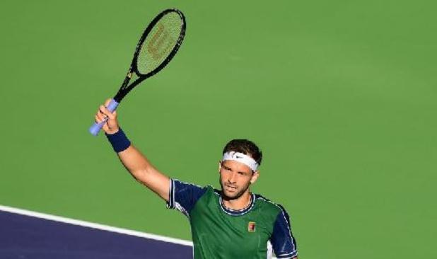 ATP Indian Wells - Daniil Medvedev éliminé en huitièmes de finale par Grigor Dimitrov