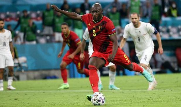 Romelu Lukaku sélectionné dans l'Équipe du tournoi avec cinq Italiens
