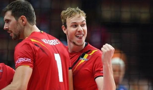 EK volley (m) - Red Dragons openen toernooi tegen Oostenrijk
