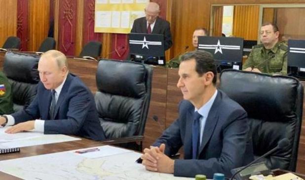 Poutine a rencontré Assad lors d'une visite surprise en Syrie