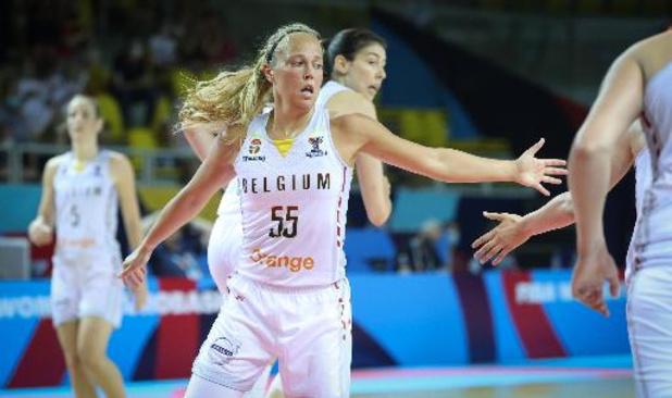 Pour Julie Allemand, les Belgian Cats ont joué à nouveau avec du coeur et de la passion