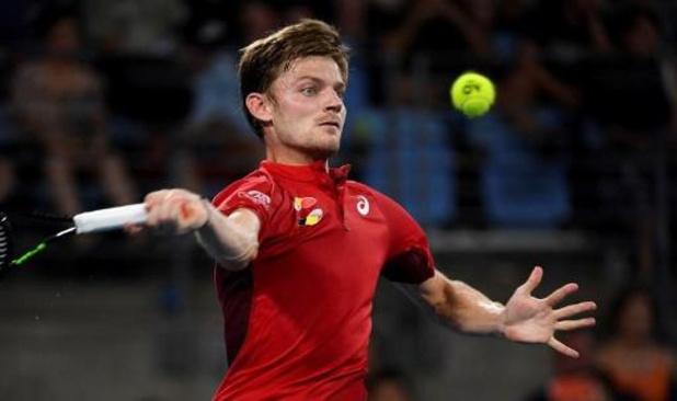Goffin houdt België in ATP Cup-race met stuntzege tegen Nadal