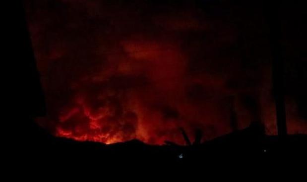 Est de la RDC: le volcan Nyiragongo est entré en éruption