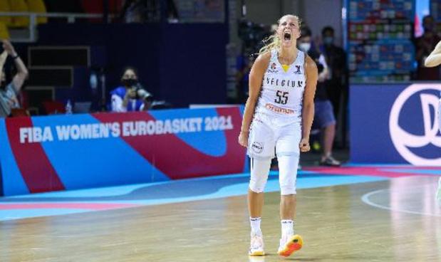 """Euro de basket féminin - Julie Allemand auteur du panier de la victoire: """"chaque action nous fait gagner le match"""""""