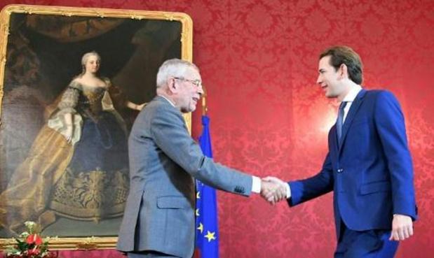 Oostenrijks president belast Sebastian Kurz met vorming nieuwe regering