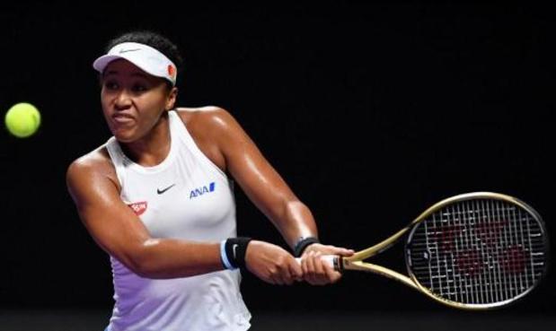 Masters WTA : Naomi Osaka forfait et remplacée par Kiki Bertens