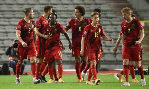 Rode Duivels blijven FIFA-klassement ook na corona-onderbreking aanvoeren