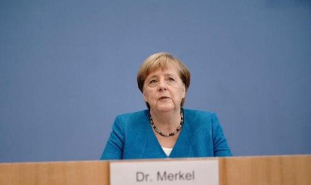 Merkel s'attend à une aggravation de la situation