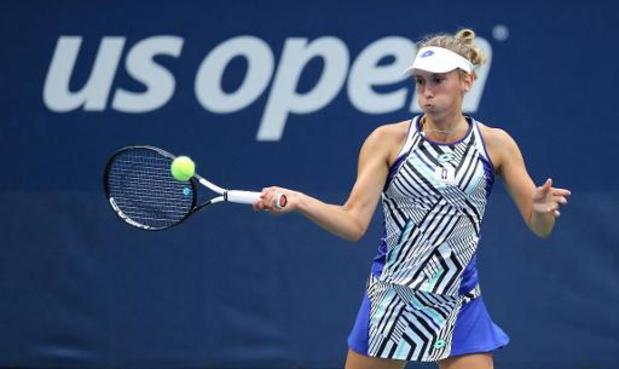 US Open - Elise Mertens grijpt naast ticket voor halve finales
