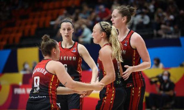 EK basket (v) - Belgian Cats strijden om brons tegen Wit-Rusland