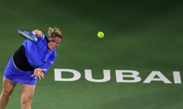 Kim Clijsters battue par Garbine Muguruza pour son grand retour