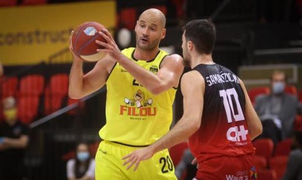 Euromillions Basket League - Ostende s'impose à Anvers dans le choc de la 7e journée