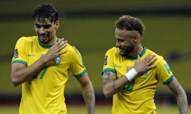 Qualifications Mondial 2022 - Cinquième victoire en cinq matches pour le Brésil, Neymar buteur et passeur