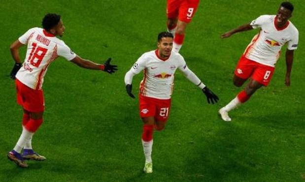 Champions League - RB Leipzig plaatst zichzelf en PSG, ten koste van Manchester United