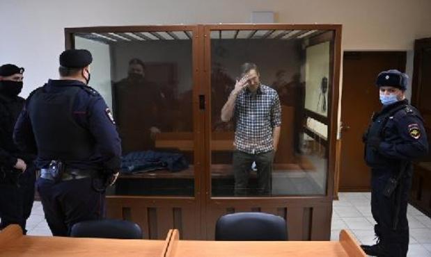 Artsen eisen medische bijstand voor gedetineerde Kremlincriticus Navalny