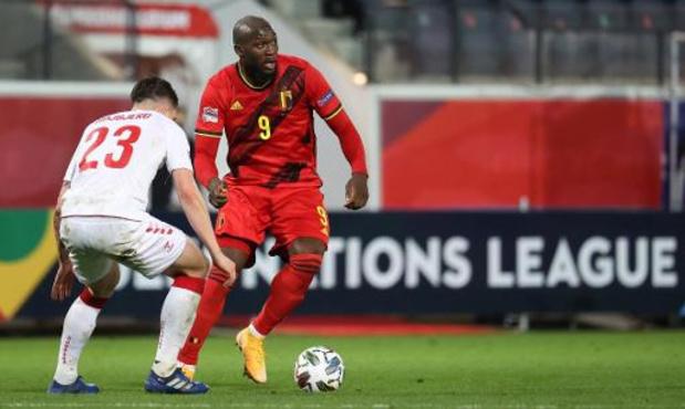 Romelu Lukaku pourra jouer les trois matches de qualification pour le Mondial 2022