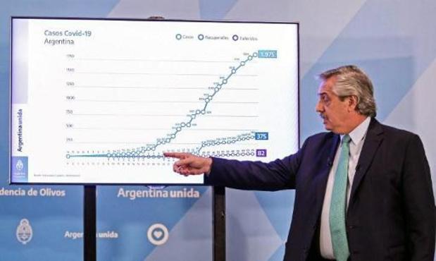 L'Argentine prolonge le confinement obligatoire jusque fin avril