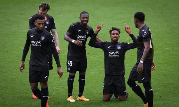 Réaliste, Anderlecht bat l'Antwerp dans le choc de la 11e journée