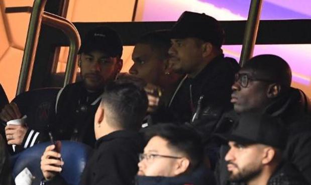 Neymar (Paris SG) voit sa suspension réduite et pourrait jouer à Bruges