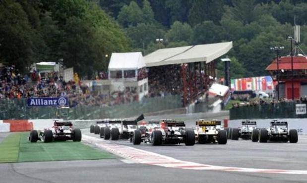 Circuit de Spa-Francorchamps: 80 M EUR d'investissements et retour de la moto annoncés