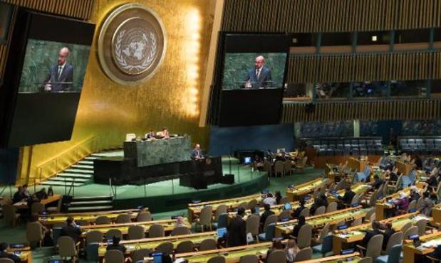 Algemene Vergadering VN - Michel schuift drie uitdagingen naar voor: klimaat, duurzame ontwikkeling en veiligheid