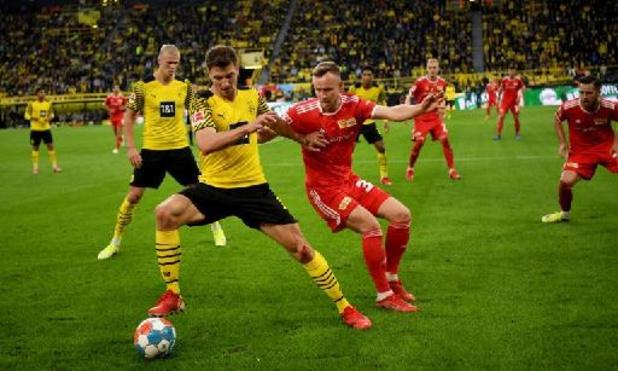 Les Belges à l'étranger - Dortmund, avec ses trois Belges, dispose de l'Union Berlin à domicile