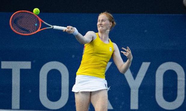 OS 2020 - Alison Van Uytvanck plaatst zich vlot voor zestiende finale