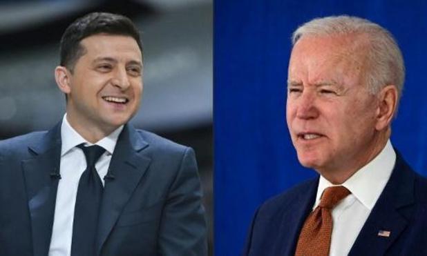 Biden nodigt Oekraïense president uit in Witte Huis