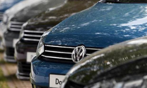 Volkswagen haalt Europese emissie-eis net niet en krijgt boete