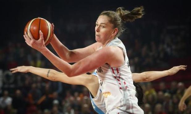 WNBA: Emma Meesseman plaatst zich met Mystics op valreep voor playoffs